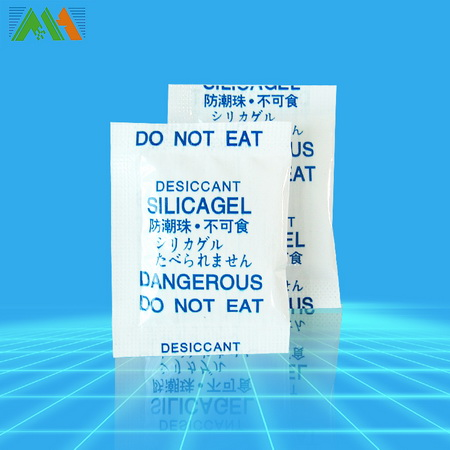 2g of silica gel OPP film